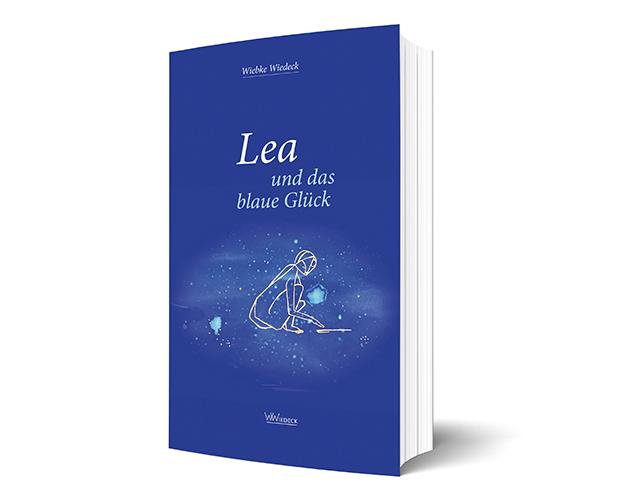 Lea ind das blaue Glück, Cover in 3D